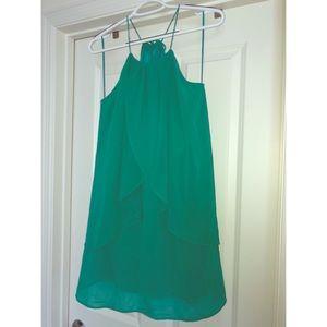 Alter'd State Green Shift Dress